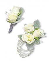 Virtue Corsage and Boutonniere Set Corsage/Boutonniere