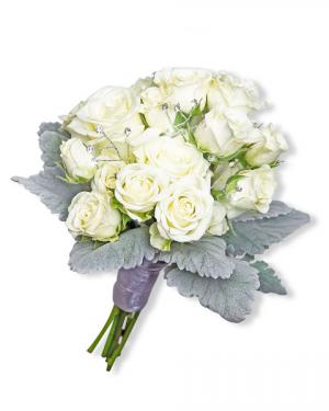 Virtue Hand-tied Bouquet Flower Arrangement in Nevada, IA | Flower Bed