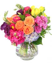 Vision of Spring vase