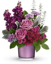 Visions In Violet Floral Design