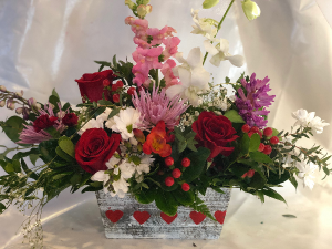 Vivian's Valentines Special Local delivery or pickup only in Byfield, MA | Anastasia's Flowers on Main