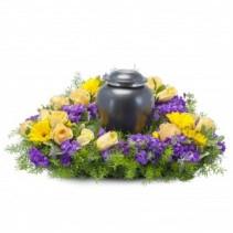 Vivid Garden Urn Design