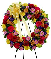 Vivid Recolections  Wreath