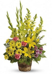 Vivid Reflections ORDER by PHONE: Funeral Baskets Start at $60.00