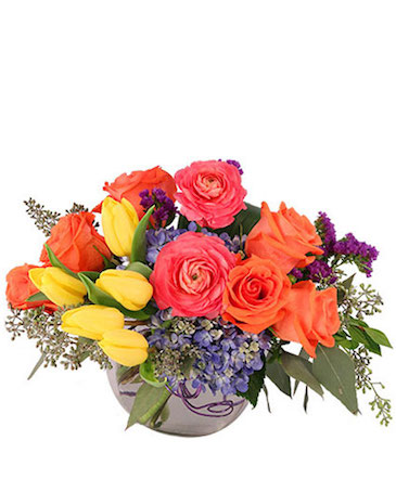 Vivid Splendor Floral Arrangement