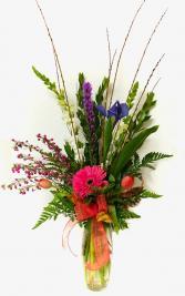 Vivid Spring Vase Arrangement