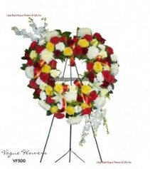 Vogue's Heart of Hope Funeral Hearts