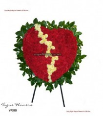 Vogue's Heart of Pain Funeral Hearts