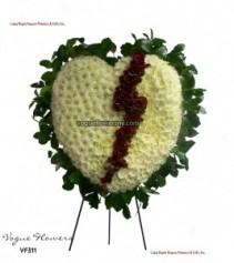 Vogue's Heart of Sorrow Funeral Hearts