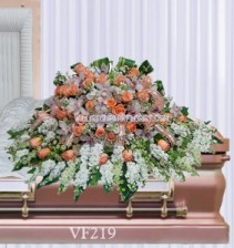 Vogue's Humility Casket Spray Casket Spray Flowers