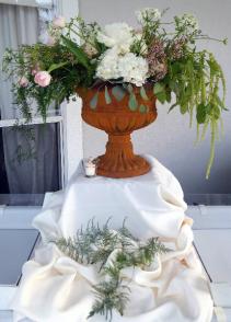 Vows Wedding Centerpiece