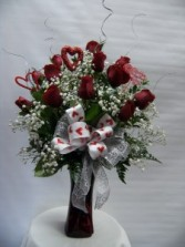 VPP 1 Sparkle Rose Bouquet
