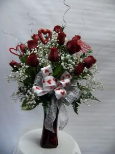 VPP 1 Sparkle Rose Bouquet
