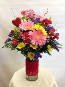 VPP 7 The Lace Vase Bouquet