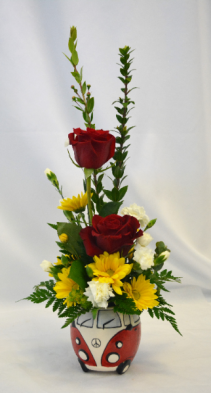 VW LOVE  Flower Arrangement
