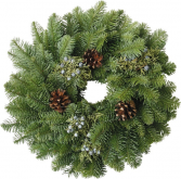 W1 Candle Wreath Libbey