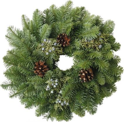 W1 Candle Wreath Libbey