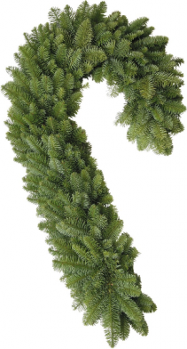 W5 Large Candy Cane Wreath Libbey
