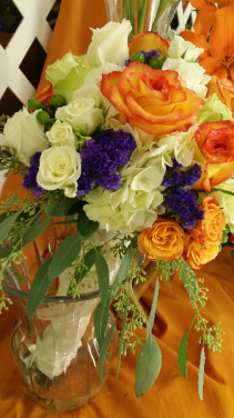 Walk down the Aisle in a Park Bridal bouquet
