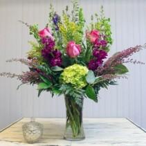 Walk In The Garden  Vase Arrangement