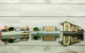Walkersville Landmarks by Cat's Meow Villages Abloom Original in Walkersville, MD | ABLOOM LTD