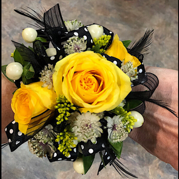 Groove Is In The Heart Corsages