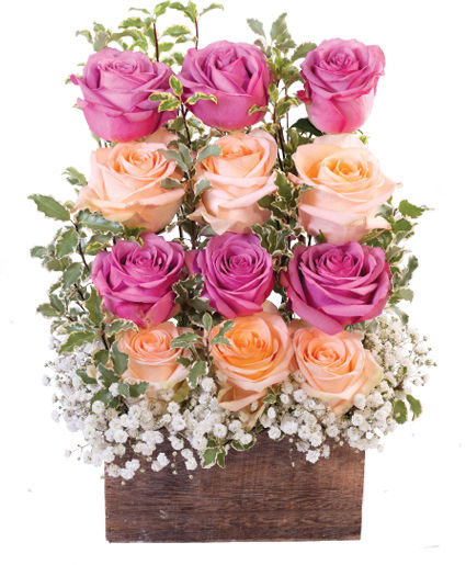 Wall of Roses Floral Design