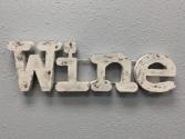 Wall Word Wine