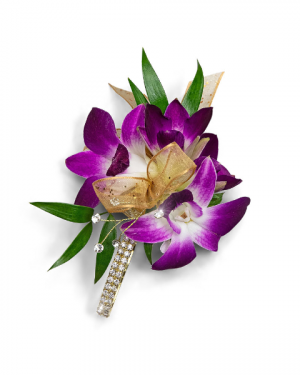 Wanderlust Corsage Corsage/Boutonniere in Nevada, IA | Flower Bed