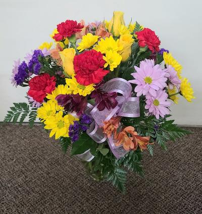 Wanting to Brighten Your Day  FHF-201 Vase Arrangement