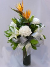 WARM AFFECTIONS-  Flowers For All Occasions. Flowers Prince Birds of Paradise Creates a Bright Infusion of Colors. Make Your Day Just as Bright.