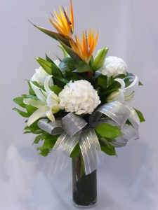 WARM AFFECTIONS-  Flowers For All Occasions. Flowers Prince Birds of Paradise Creates a Bright Infusion of Colors. Make Your Day Just as Bright. in Prince George, BC | AMAPOLA BLOSSOMS FLOWERS