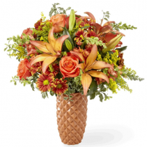 Warm Amber FTD Arrangement