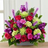 Warm Embrace Arrangement assorted flowers