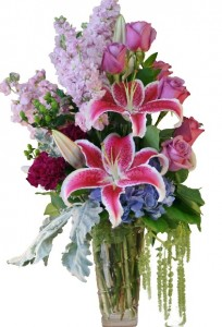 WARM EMBRACE Arrangement of Flowers