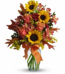 Warm Embrace Fall Arrangement