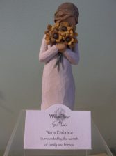 """WARM EMBRACE"" WILLOW TREE FIGURINE"