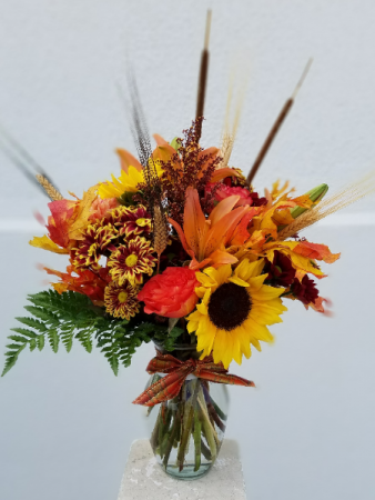 Warm Fall Mix Arrangement Special Design