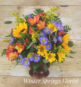 Warm Fall Wishes   in Winter Springs, FL | WINTER SPRINGS FLORIST AND GIFTS