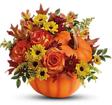 Warm Fall Wishes Bouquet Arrangement