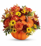 Warm Fall Wishes Thanksgiving Centerpiece