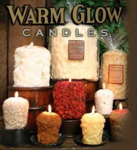 WARM GLOW  CANDLES