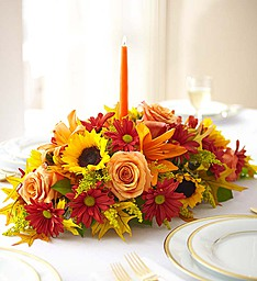 Warm Greetings Centerpiece  in Fair Lawn, NJ | DIETCH'S FLORIST