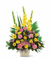 Warm Thoughts Arrangement Funeral Flowers