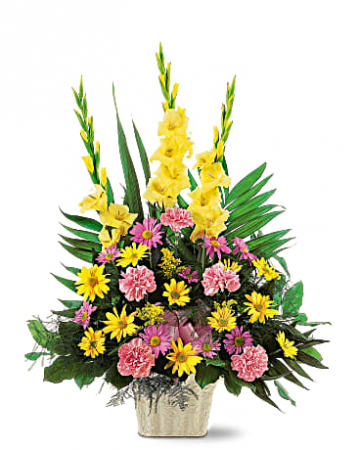 Warm Thoughts Funeral Flowers