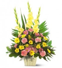 Warm Thoughts Funeral Vase