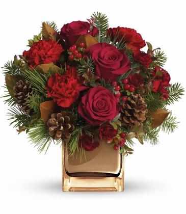 Warm Tidings Bouquet TWR06-2A