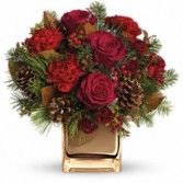 Warm Tidlings Holiday Bouquet