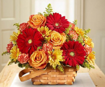 Warm Welcome Basket Arrangement