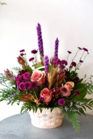 Warm Wishes Basket  in La Grande, OR | FITZGERALD FLOWERS